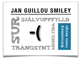 Jan Guillou smiley