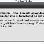 iTunes formattering, min bäste vän