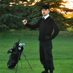 sometimes i golf.. (by striatic)