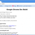 Chrome i Linux